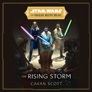 The High Republic The Rising Storm audiobook cover