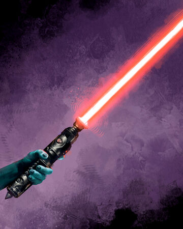 Star Wars Custom Replacement Red Lightsaber