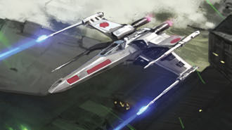 XJ5 X-wing starfighter