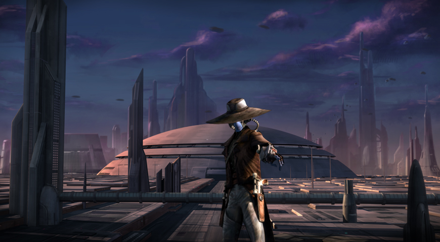 Mission to Coruscant (Cad Bane)