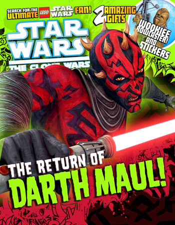 Star Wars: The Clone Wars Comic UK 6.30