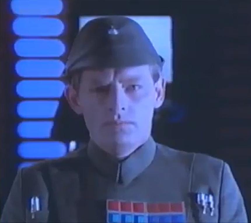 Unidentified Imperial admiral (Death Star II)