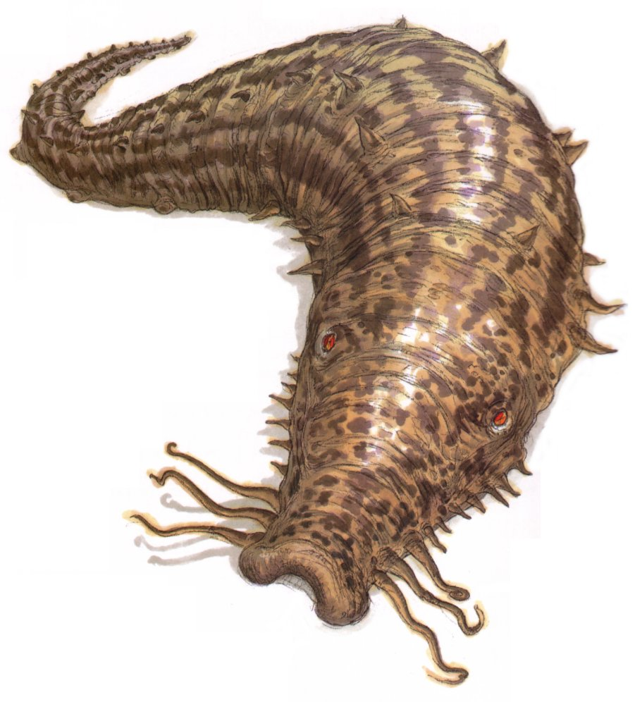 Duracrete worm