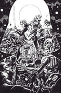 Star Wars Adventures Ghosts of Vaders Castle cover A uncolored