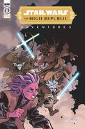 The High Republic Adventures 8 variant cover