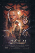 《星球大战I:幽灵的威胁》宣传海报(巴西)