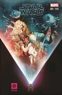 Star Wars 1 EMP Museum variant cover