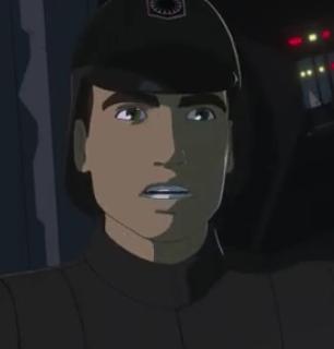 Unidentified First Order officer (D'Qar)