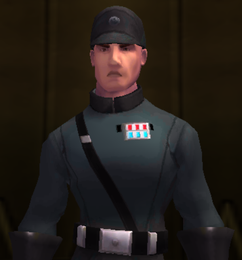 Unidentified Imperial Security Officer