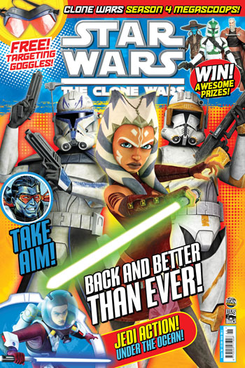 Star Wars: The Clone Wars Comic UK 6.26
