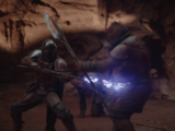 Trandoshan bounty hunter gang