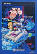Star Tours DLP poster