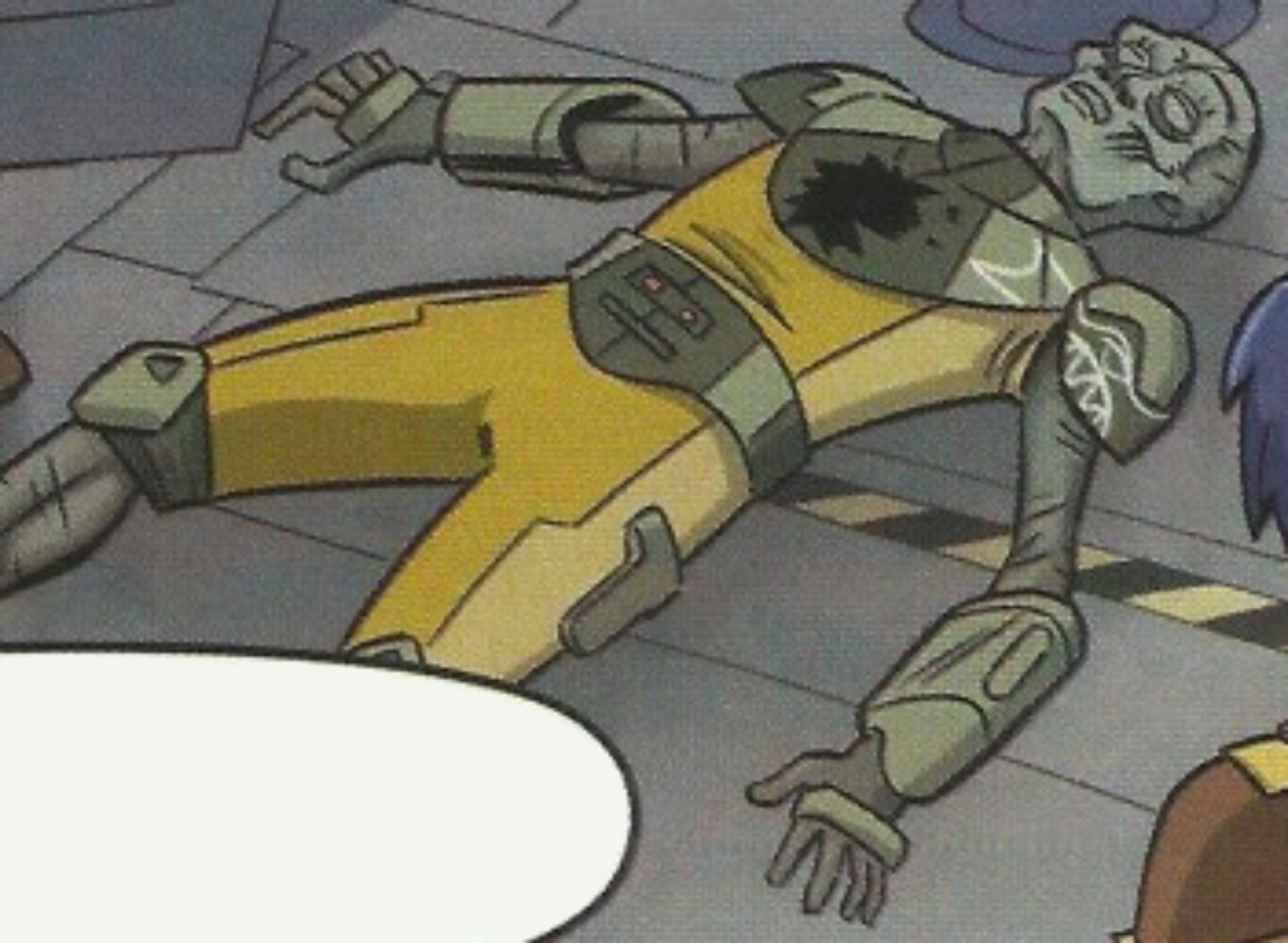 Unidentified Clawdite bounty hunter (Imperial era)
