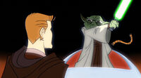"""""""(Your Name) By the right of the council, By the will of the force dub thee I do, Jedi. Knight of the Republic."""""""