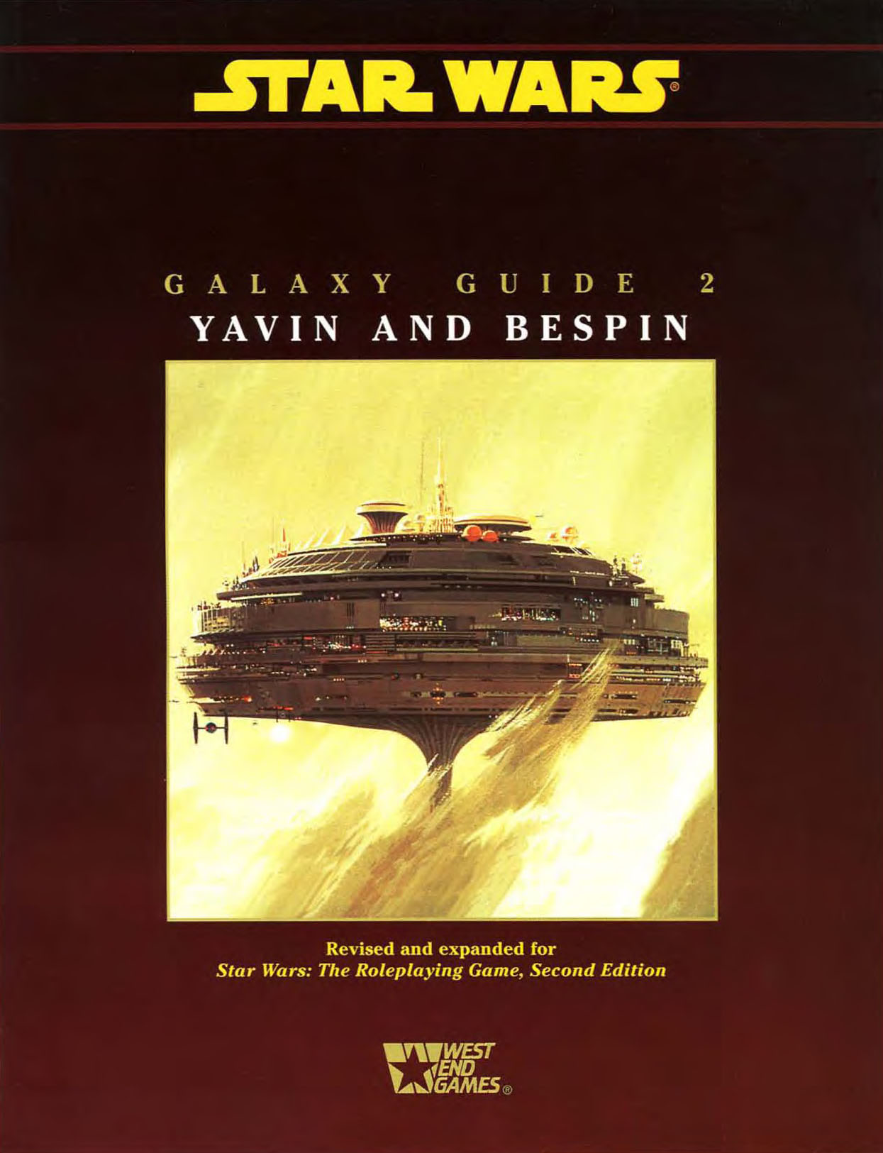 Galaxy Guide 2: Yavin and Bespin (Second Edition)