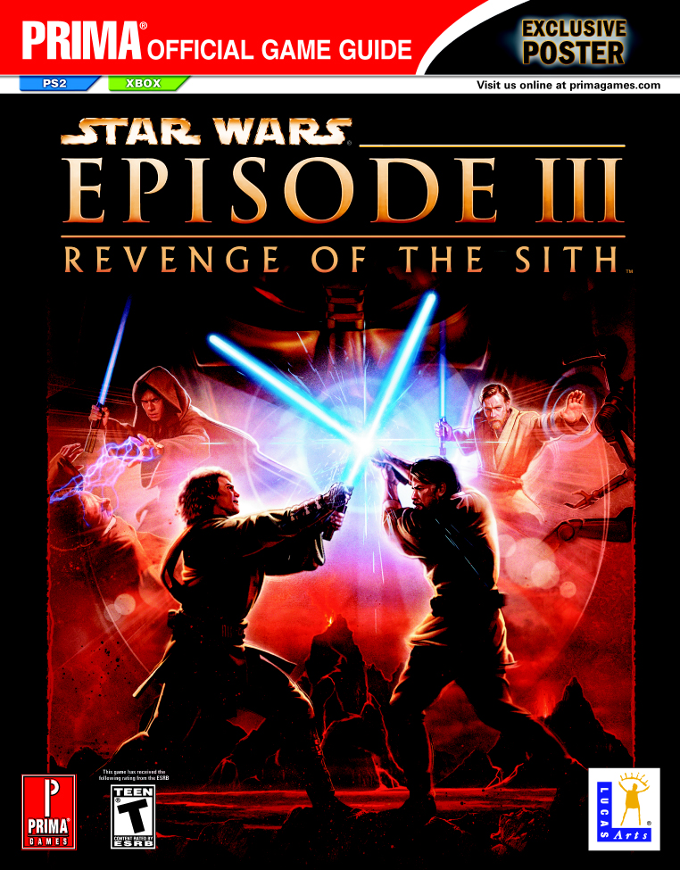 Episode III: Revenge of the Sith: Prima Official Game Guide
