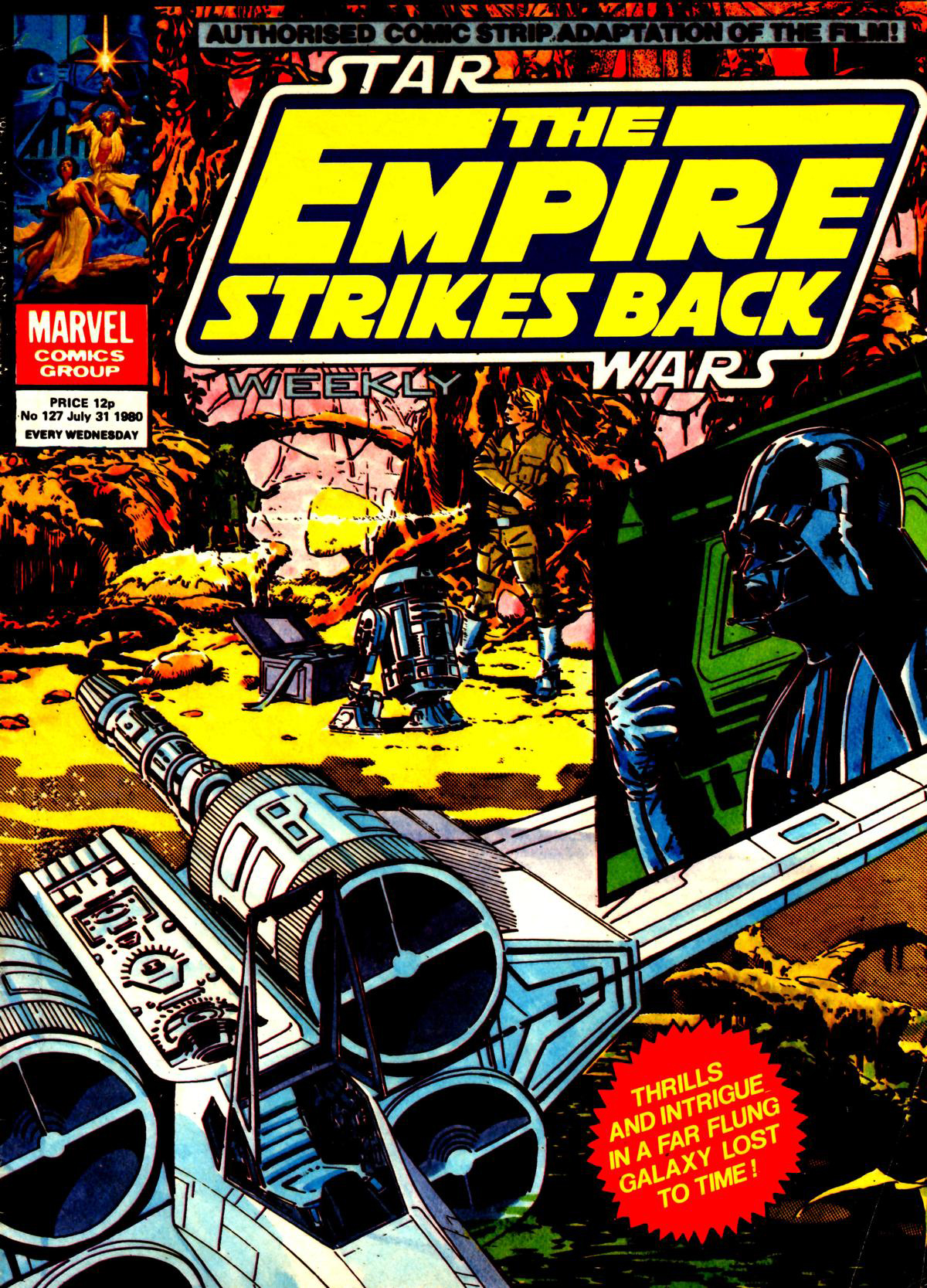 The Empire Strikes Back Weekly 127