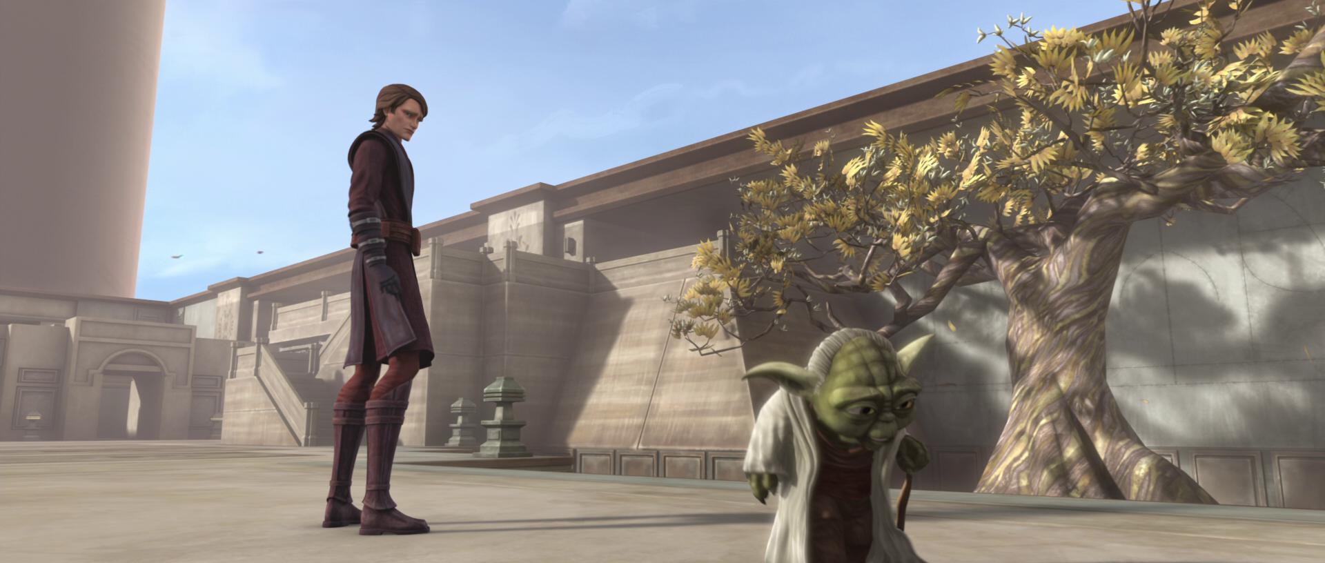 Jedi Temple training ground