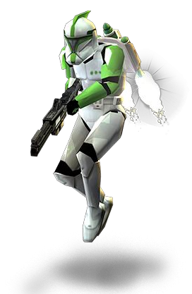 Clone soldato jet