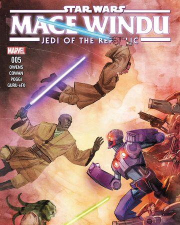 Star Wars Jedi of the Republic Mace Windu Marvel Graphic Novel Comic Book