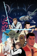 Star Wars Adventures Ashcan textless cover
