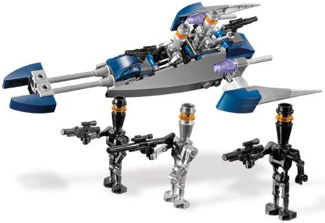 Assassin droid speeder