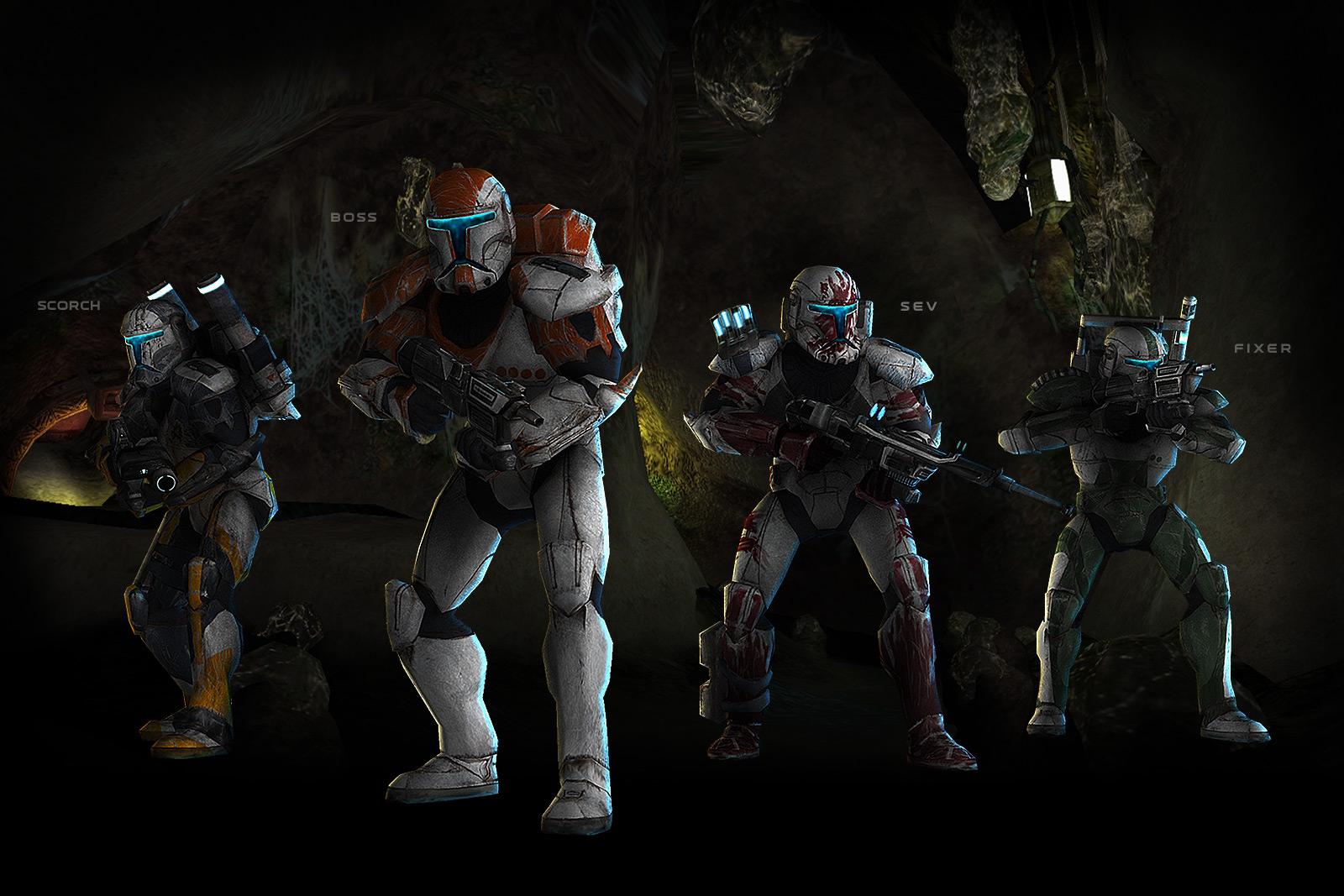 Delta Squad/Legends