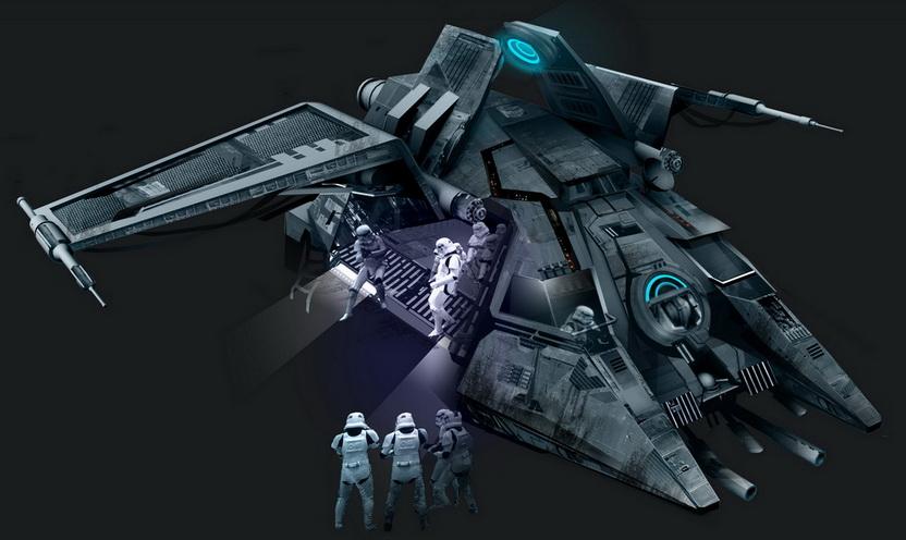 Imperial Dropship Transport/Legends