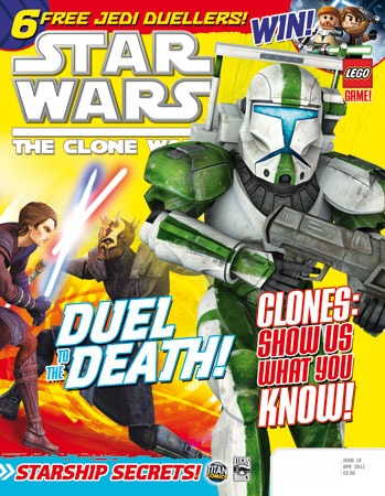 Star Wars: The Clone Wars Comic UK 6.18