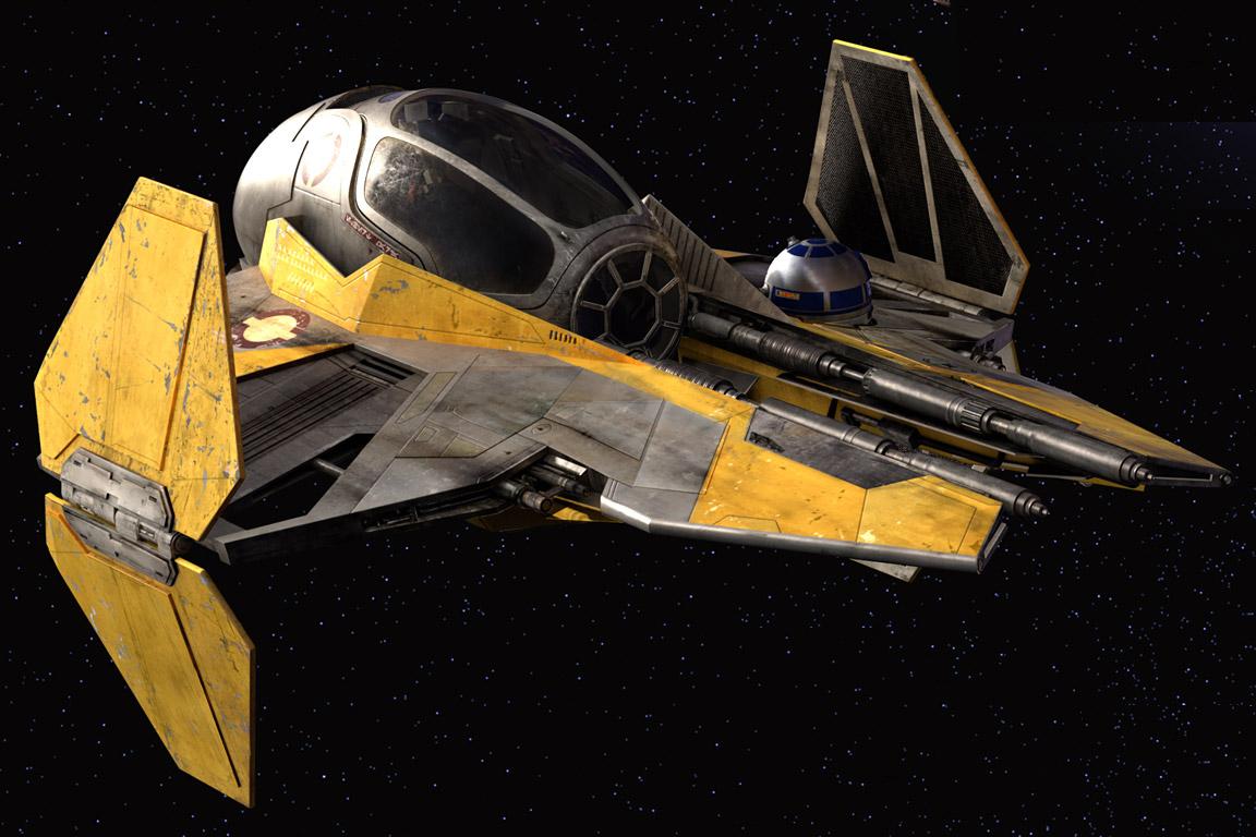 Anakin Skywalker's Eta-2 Actis-class interceptor