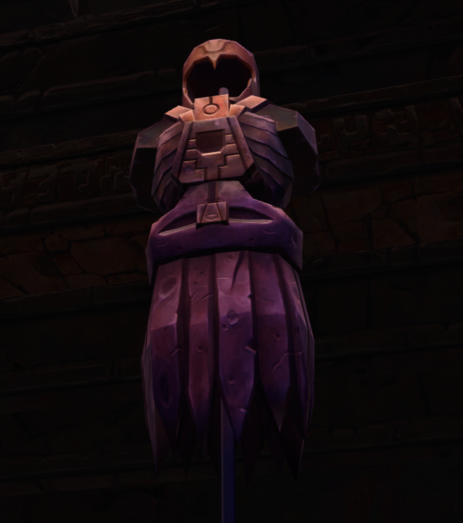 Ancient Sith armor