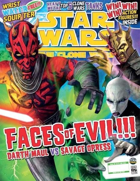Star Wars: The Clone Wars Comic UK 6.35