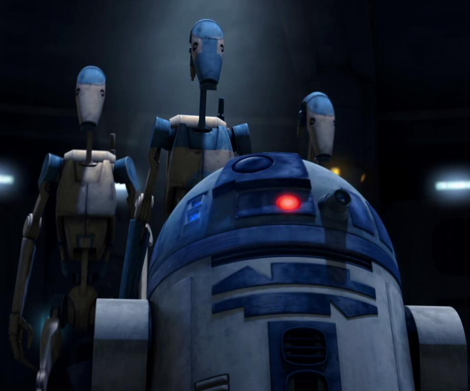 R2-D2のバトル・ドロイド分隊