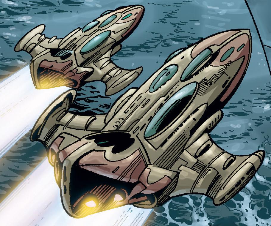 Amphibious fighter