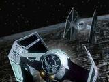 Darth Vader's TIE Advanced x1