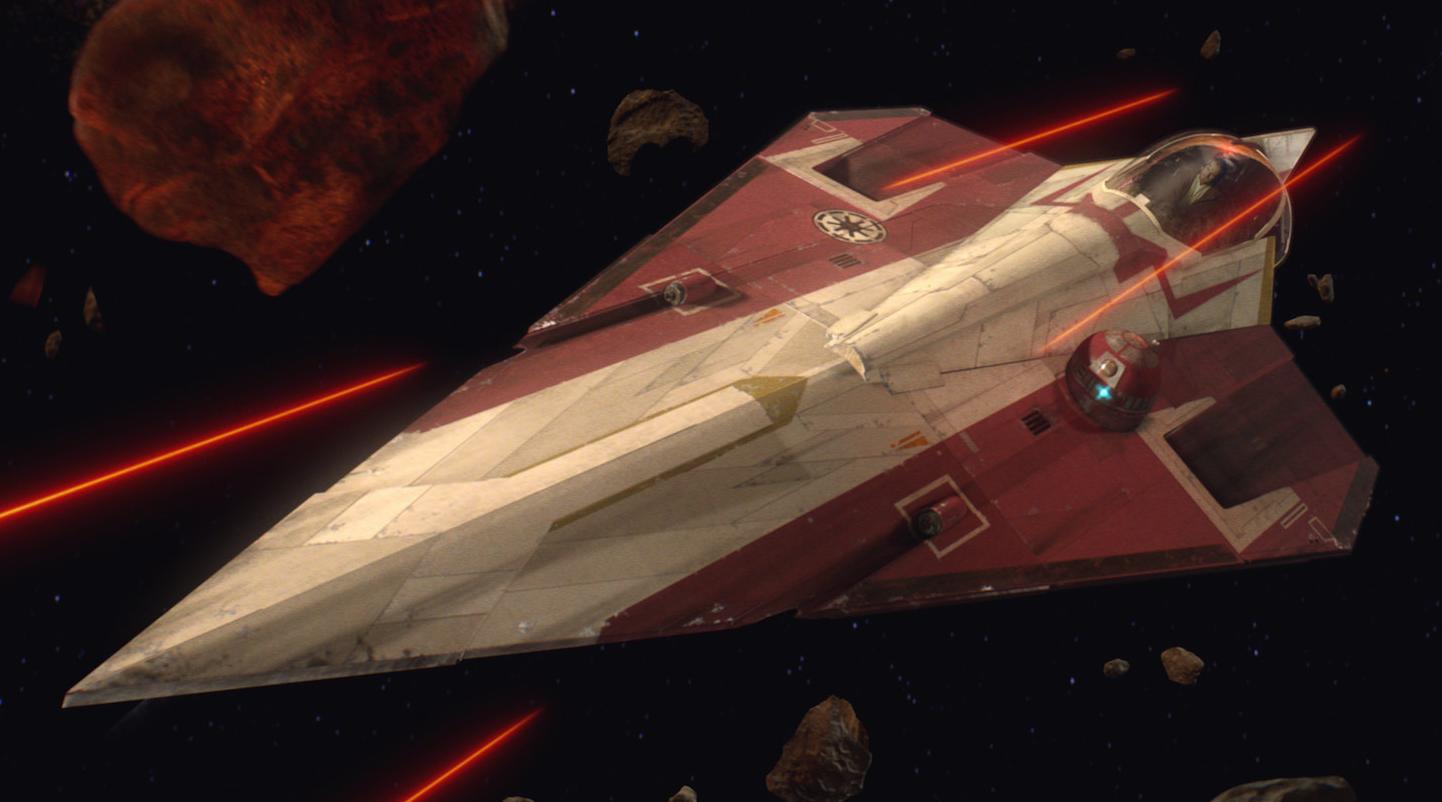 Obi-Wan Kenobi's Delta-7 Aethersprite-class light interceptor
