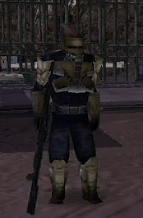 Unidentified Mustafarian bounty hunter