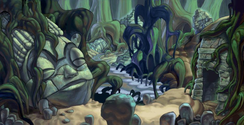 Gungan Caves