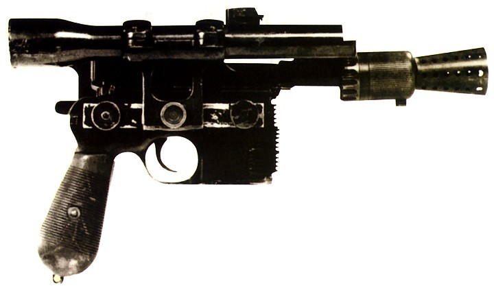 DL-44 heavy blaster pistol/Legends