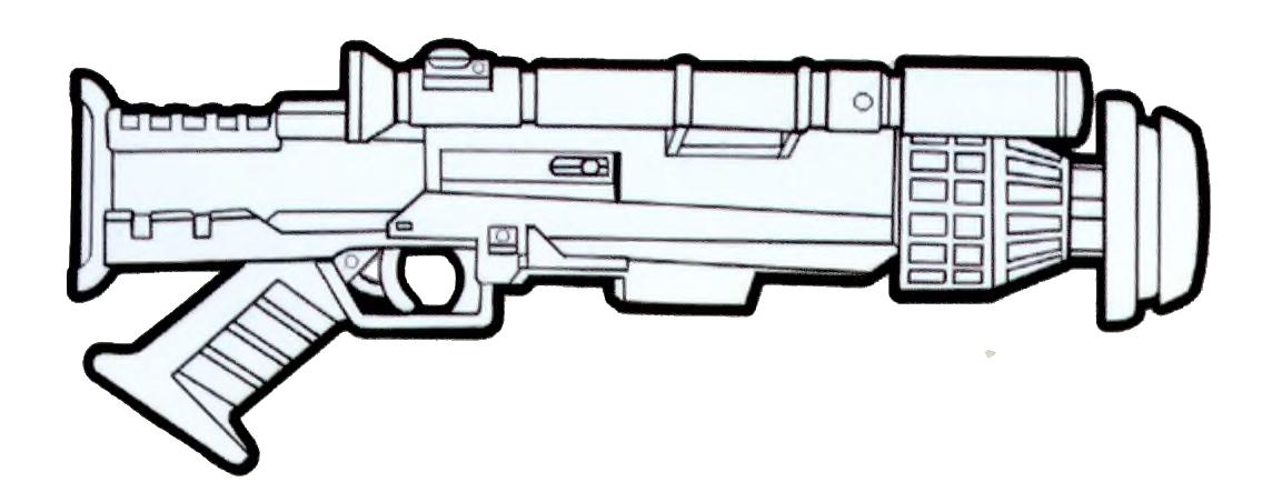 Renegade heavy blaster pistol