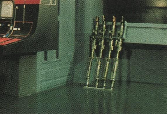 Blaster rack