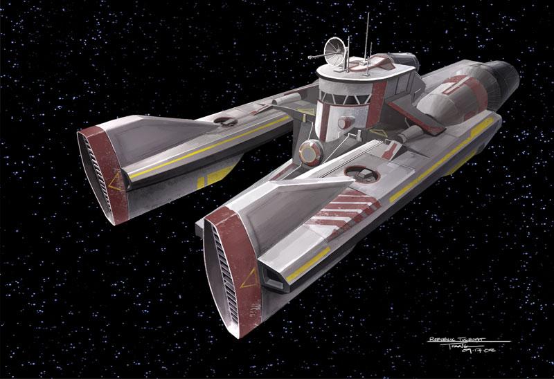 TUG-314 Interstellar Tug