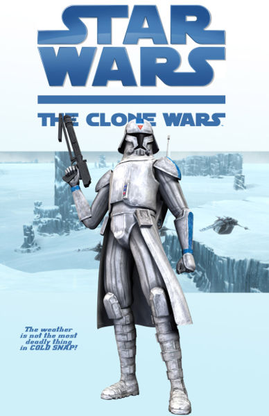 Clone Wars Webcomic: Cold Snap