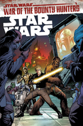 Star Wars Vol 3 War of the Bounty Hunters solicitation cover