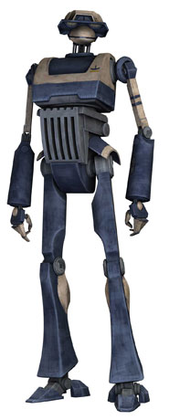 T-series military strategic analysis and tactics droid