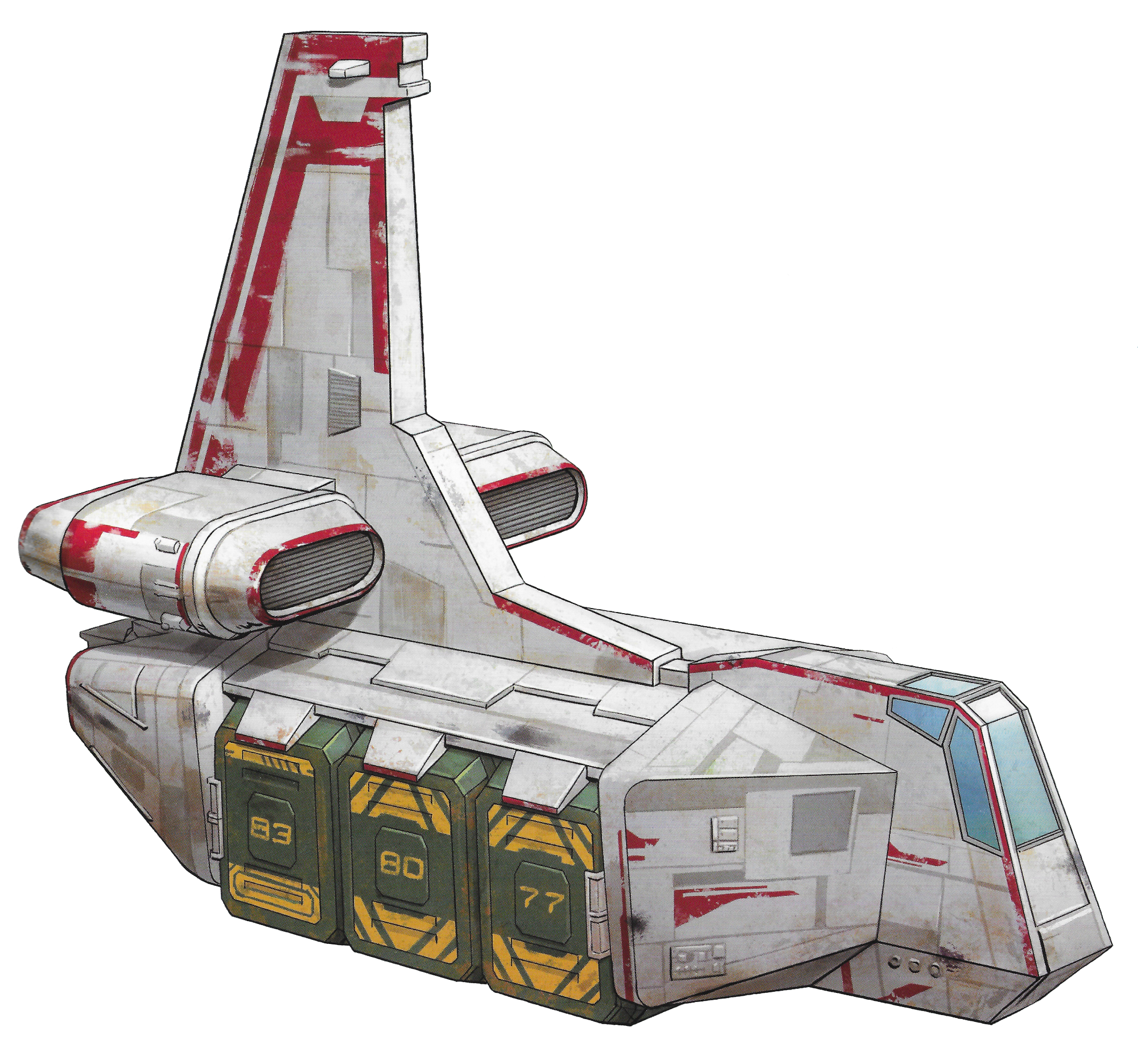 Sienar-Chall Utilipede Transport