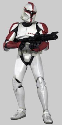Clone soldato capitano