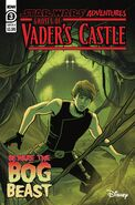 Star Wars Adventures Ghosts of Vaders Castle 3 cover B lettered