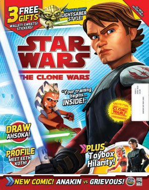 Star Wars: The Clone Wars Comic UK 6.5