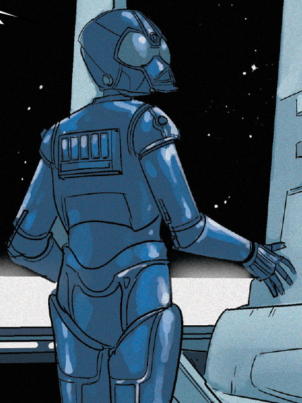 Unidentified RA-7 protocol droid (Andelm IV)